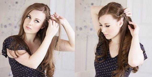 Acconciature capelli lunghi Donna Moderna - idee acconciature capelli lunghi fai da te