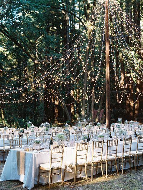 15 fina sätt att använda ljusslingor på bröllopet   ELLE