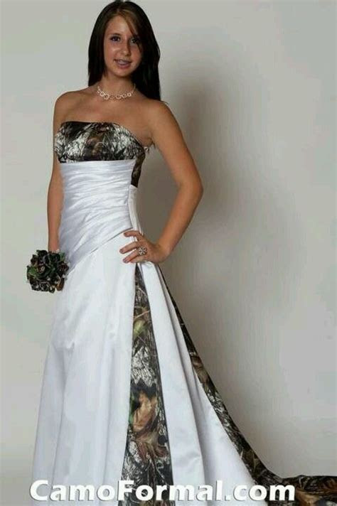 Camo wedding dress white and realtree ap   A dream is a