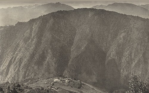 Baihanluo 白汉洛  (Peihanluo or Bahang mission station), Yunnan, 1925.