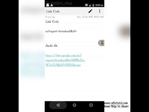 How To Create Straight Download Links From Google Drive