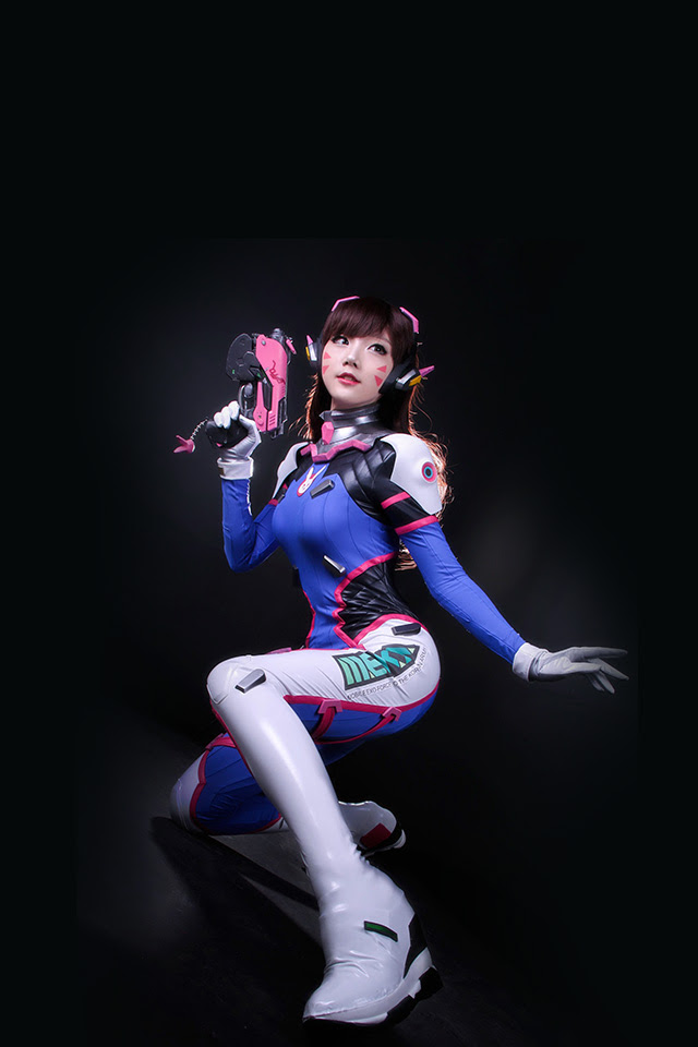 Freeios7 Com Iphone Wallpaper Hk48 Overwatch Songhana Dva Art