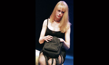 Nicole Kidman in The Blue Room at the Donmar Warehouse in 1998.