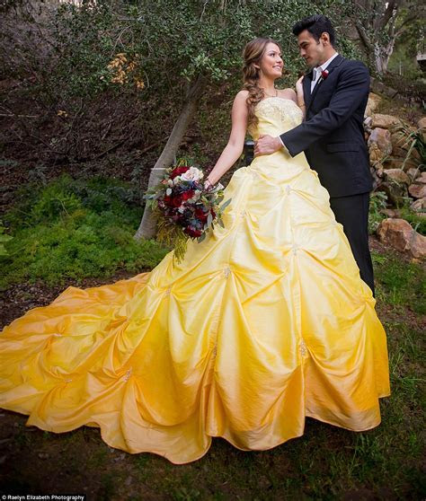 Beauty and the Beast wedding shoot brings classic to life