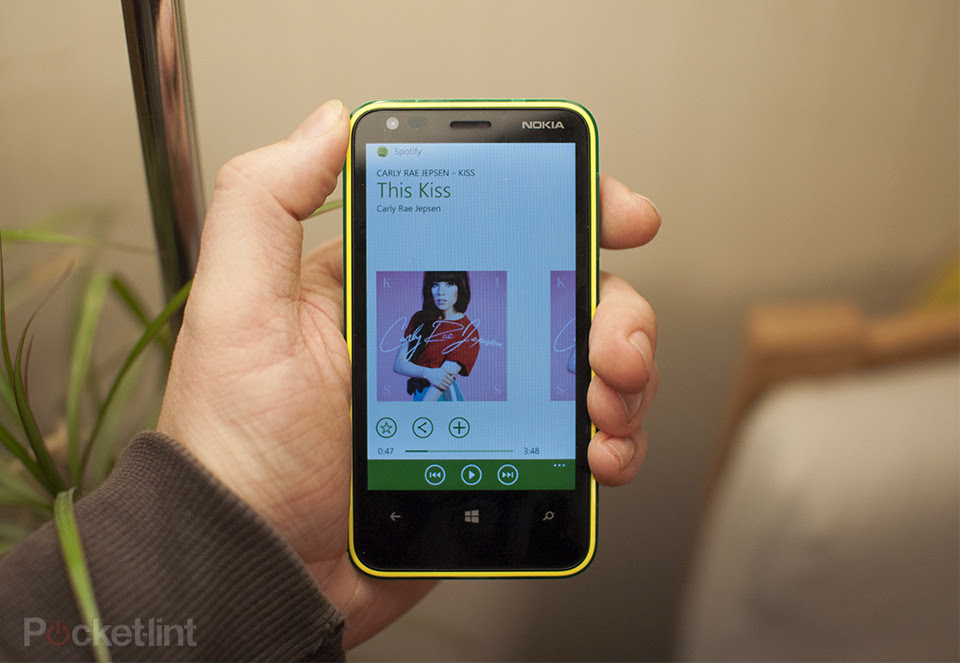Spotify Arrives to the New Windows Phone 8