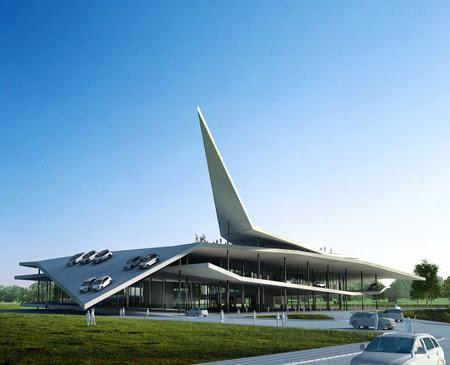 Automobile museum by Gatti Architecture Studio