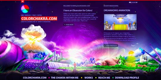 colorfulsites46 55 diseños web repletos de color