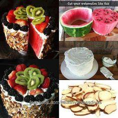 "Watermelon ""cake"""