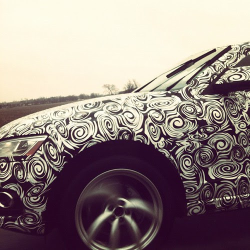 Swirly car