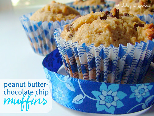 Peanut Butter - Chocolate Chips Muffins