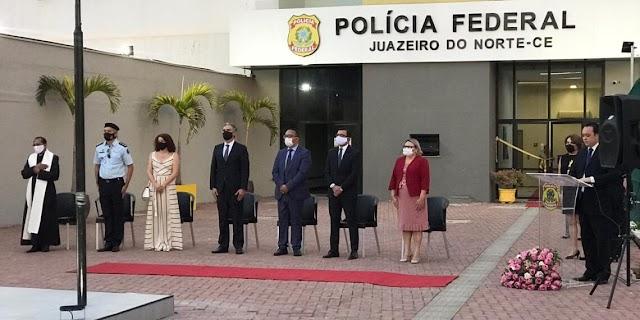 Polícia Federal inaugura sede provisória em Juazeiro do Norte