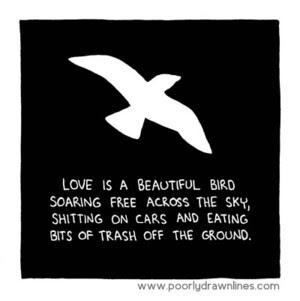 Love Is Broadsheetie