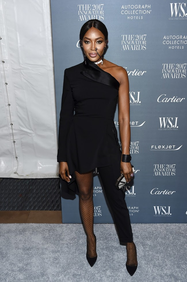 premios wsj magazine innovator awards celebrities alfombra roja Naomi Campbell