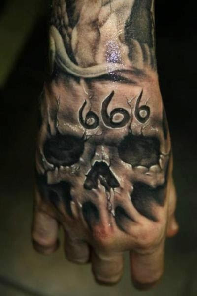 Ink Bonerad Hand Tattoos