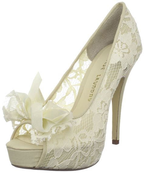 Comfortable Lace Wedding Shoes   Women,s Ware