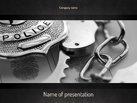 Criminal Justice Presentation Template For Powerpoint And Keynote Ppt Star