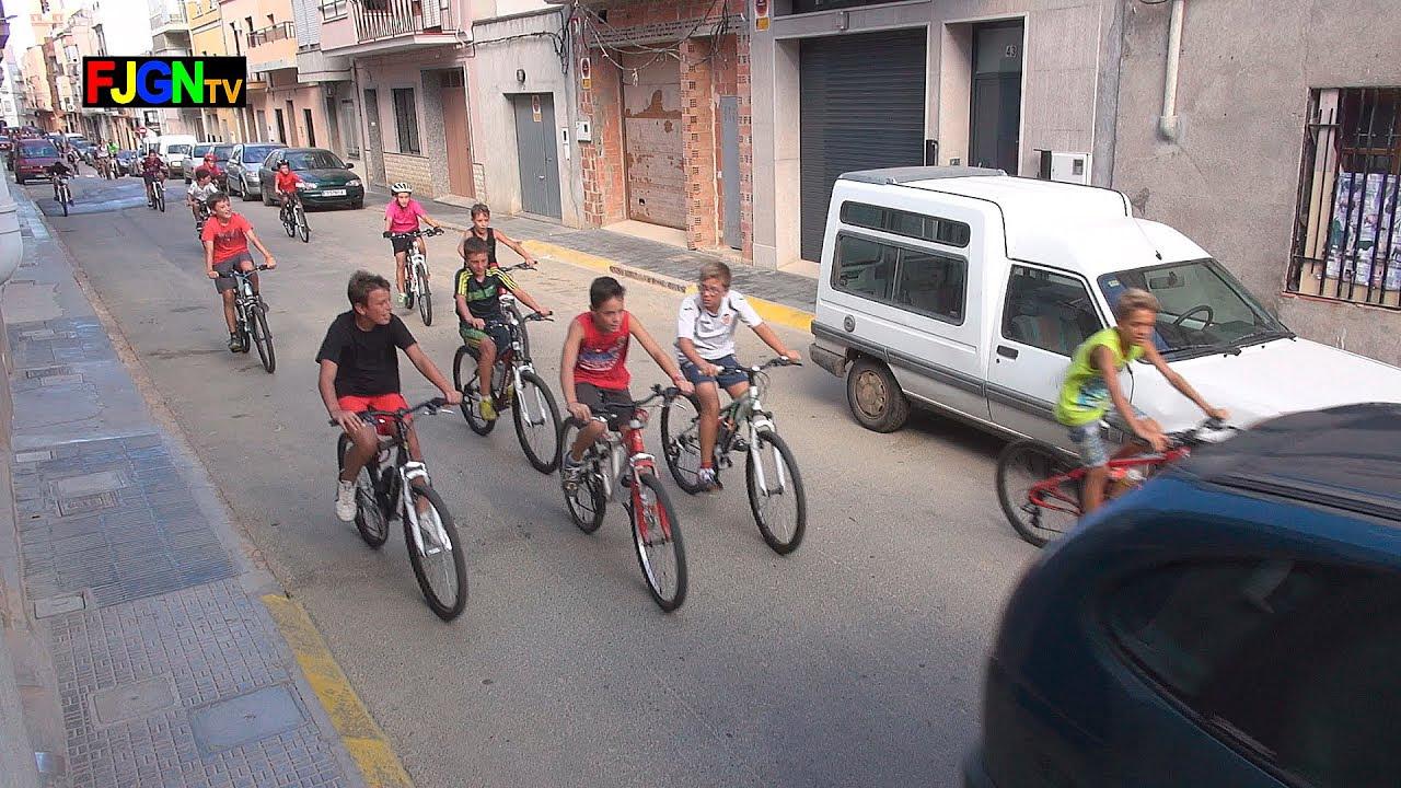 Vuelta en bici - Festa La Vila 2014 - La Vilavella