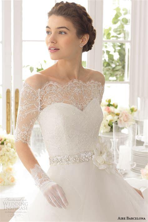 Aire Barcelona 2015 Strapless Wedding Dresses   Wedding