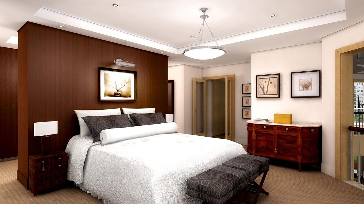 Desain Kamar Tidur Monochrome Untuk Pria Mapan Galih Pamungkas