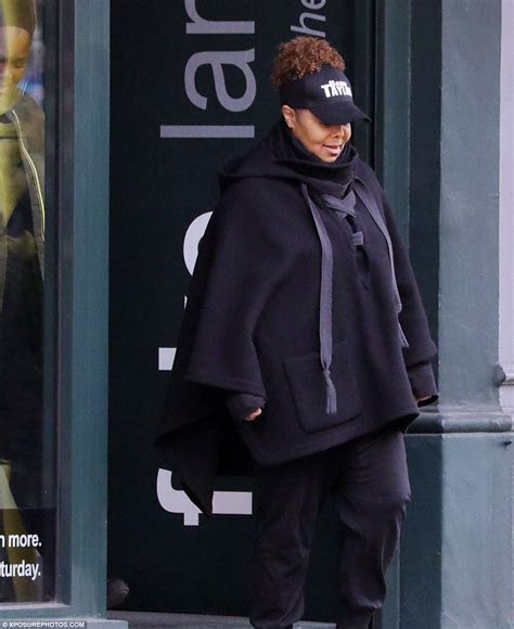 Janet Jackson seen for first time since split from husband
