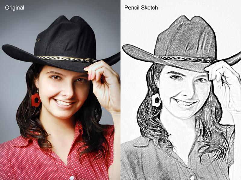 Aplikasi Edit Foto Pencil Sketch