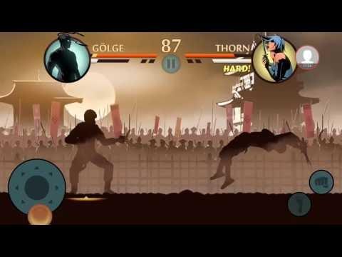 Tuğla'nın Kafasını Kırdım - Shadow Fight 2