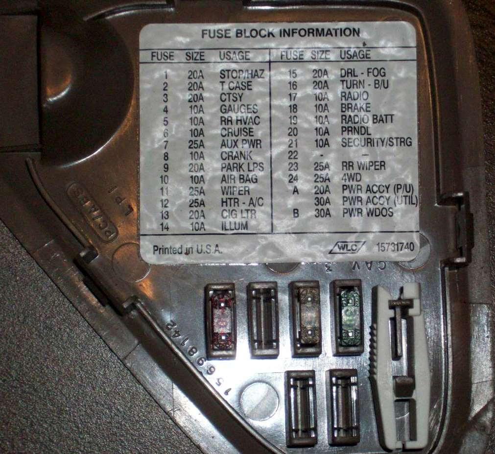 1997 GMC 1500 Wiring Diagram Request - Chevrolet Forum ...