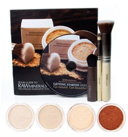 Raw Minerals Mineral Makeup Discovery Kit