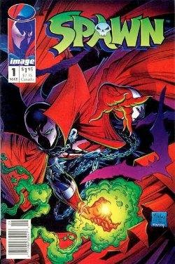Spawn Comic Book Issue 1 Price