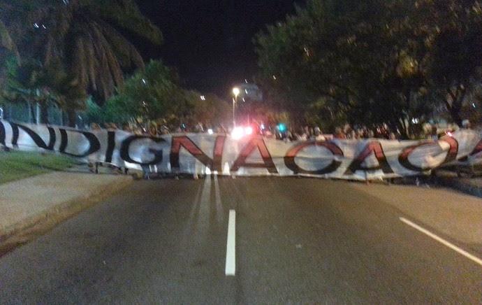 protesto Flamengo (Foto: Pedro Venancio)