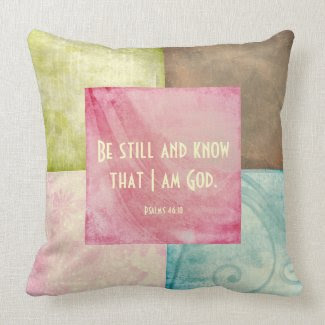 Bible Verse Be Still and Know