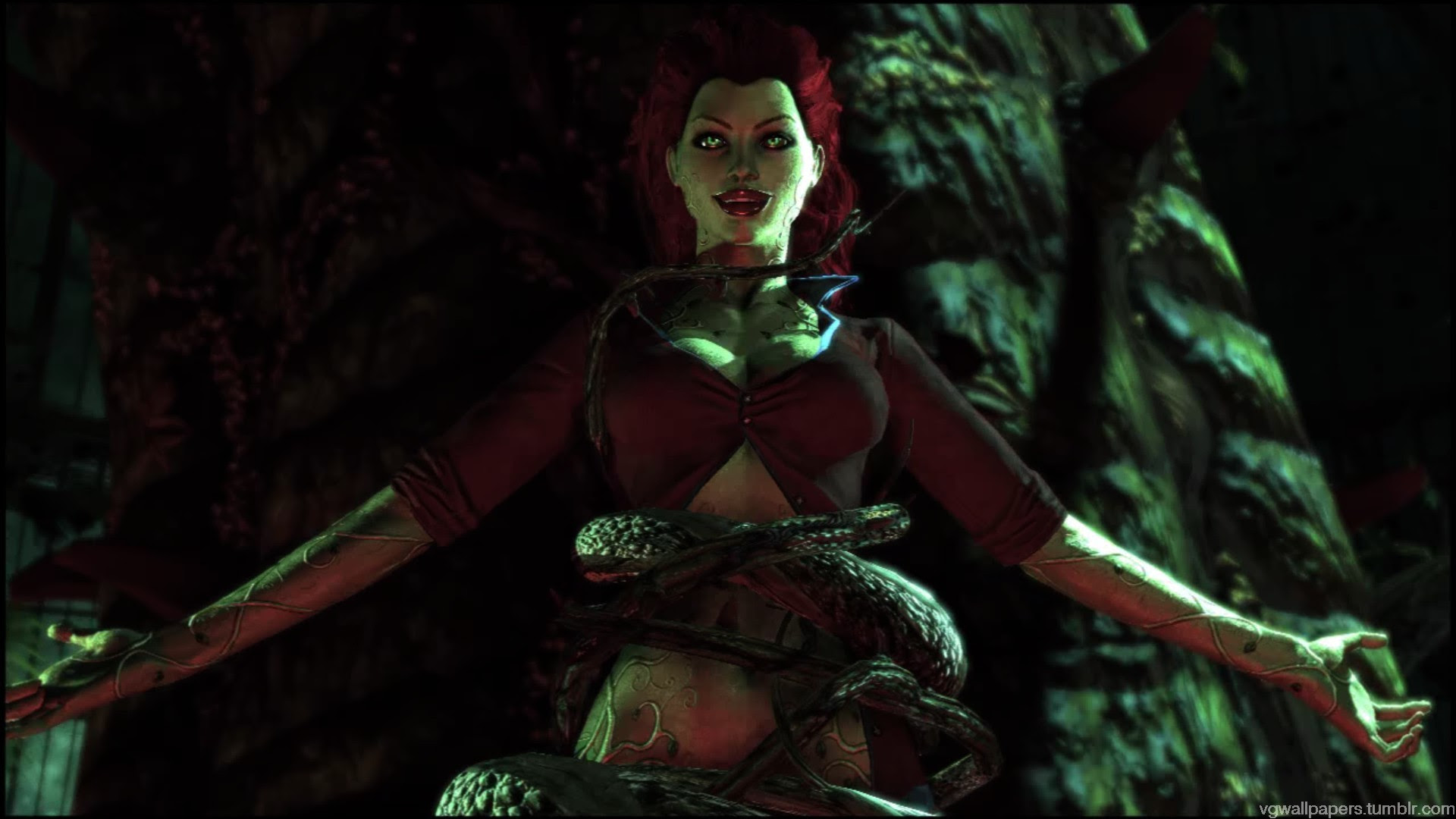 Video Game Wallpapers Poison Ivy A Screenshot From The Batman
