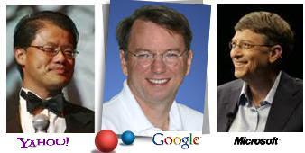 Yahoo Google Microsoft