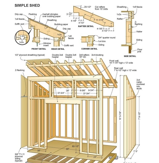 Lev free downloadable shed plans for Design your own pole barn online