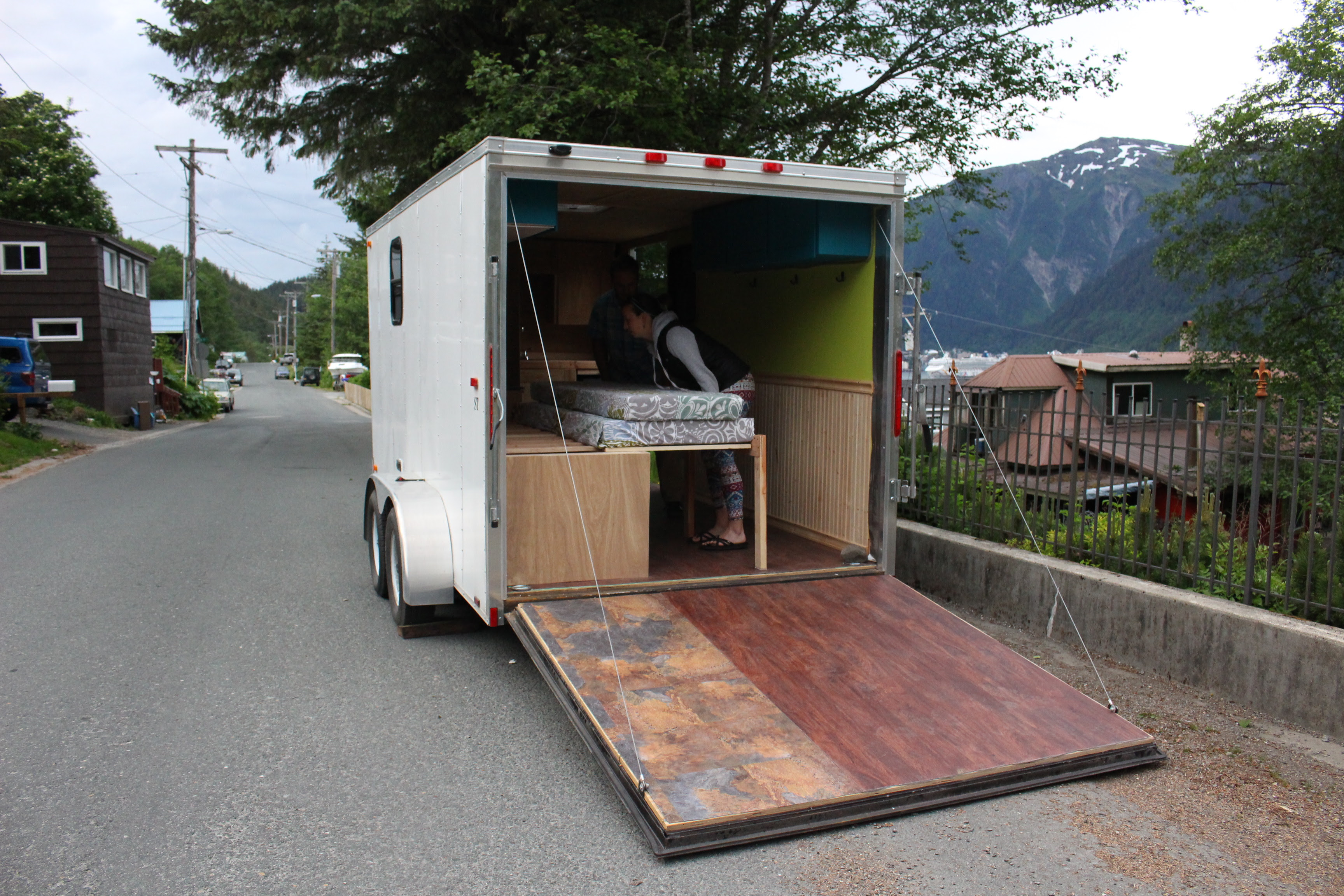 Adventure-bound Juneau couple moves into $30,30 tiny house on wheels