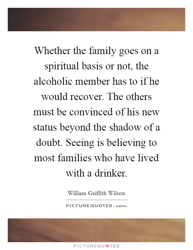 Whether The Family Goes On A Spiritual Basis Or Not The