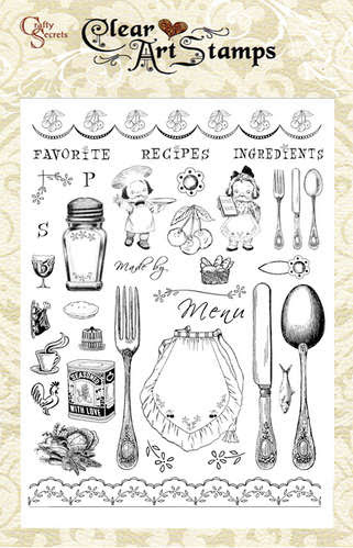 Kitchen Classics  Clear Art Stamp picture