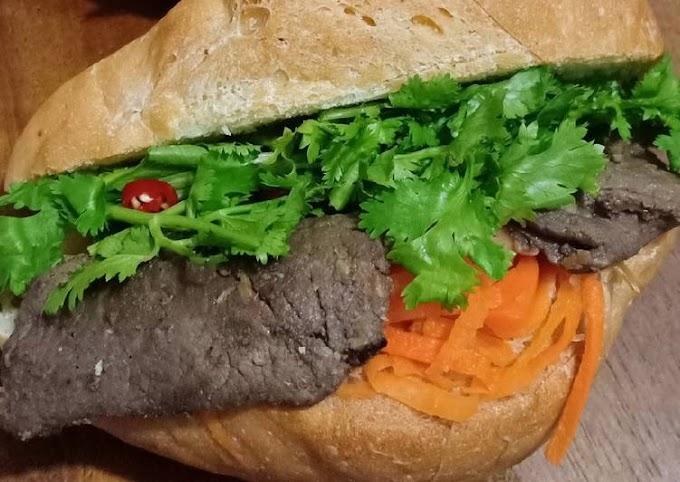 Resep Praktis Banh Mi (Vietnam Sandwich) Hitungan Menit