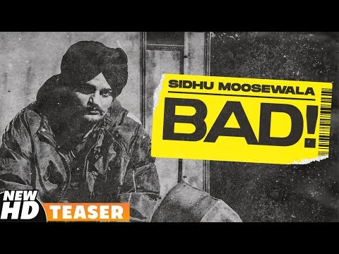 SIDHU MOOSEWALA | Bad (Teaser) | Dev Ocean | Karandope | Latest Punjabi Teasers 2020 | Speed Records