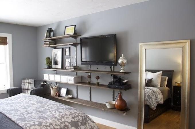 Cool Bedroom Tv Wall Mount Ideas wallpaper