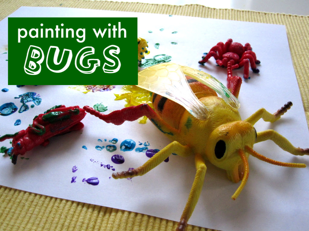 http://www.notimeforflashcards.com/2011/06/bug-painting-for-all-ages.html