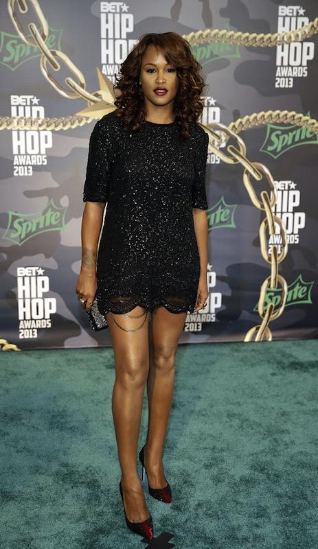eve bet 2013 hip hop awards sequined dress