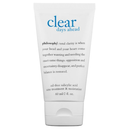 Philosophy Clear Days Ahead Oil-Free Salicylic Acid Acne Moisturizer