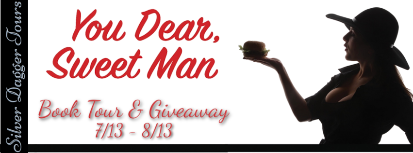 Book Tour Banner for the psychological suspense, You Dear, Sweet Man by Thomas Neviaser with a Book Tour Giveaway