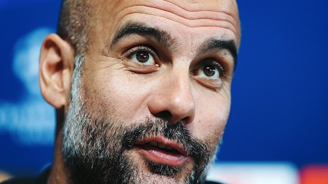 Guardiola speaking tough on UCL match