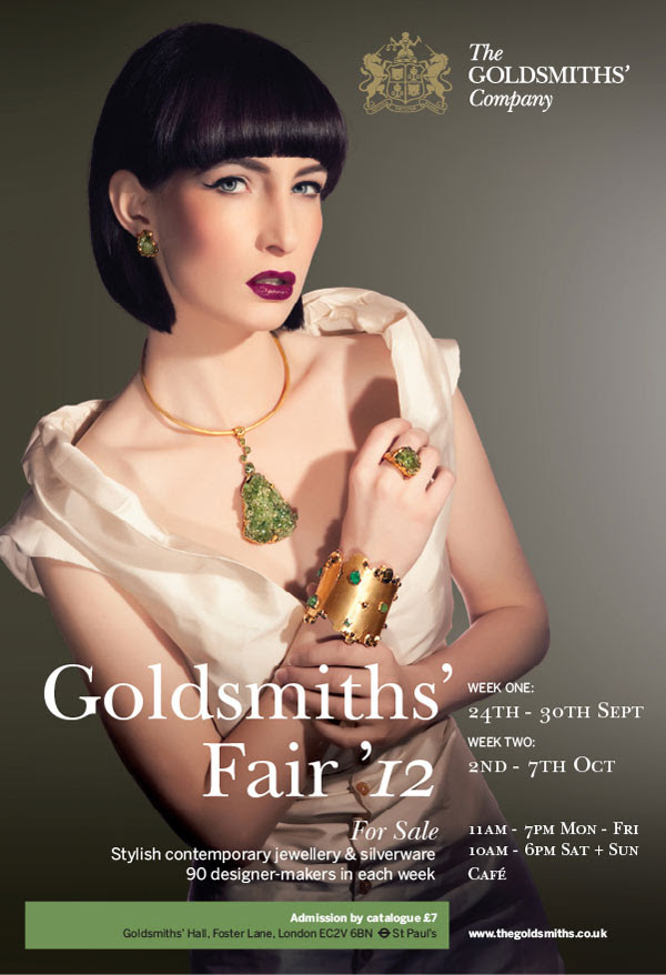 Goldsmiths' Fair Flyer
