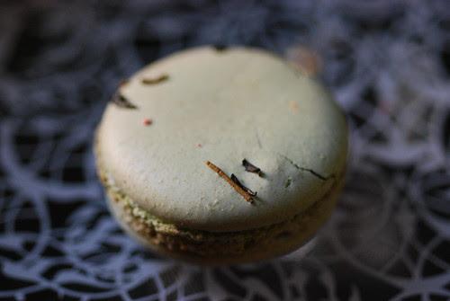 jasmine tea macaron