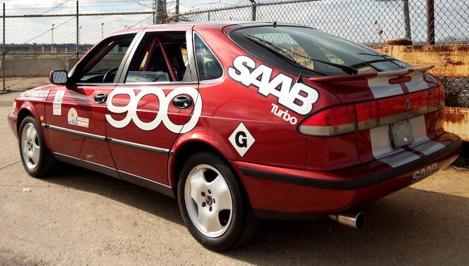 """1995 Saab 900 SE """"Pikes Peak"""" - Tom Donney Motors"""