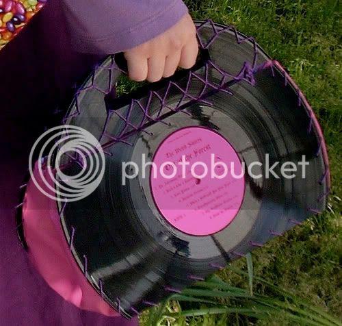 Vinyl Records Purse