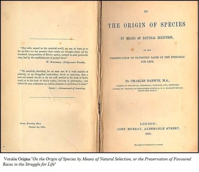evolucionistas libro origen
